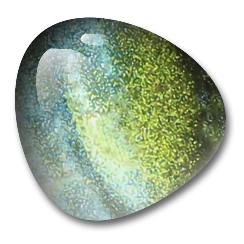Oja Semipermanenta Wassabi Glitter