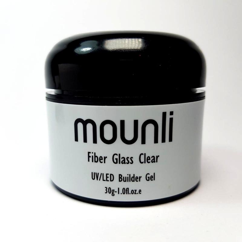 Gel Constructie Transparent cu Fibra de Sticla 30ml