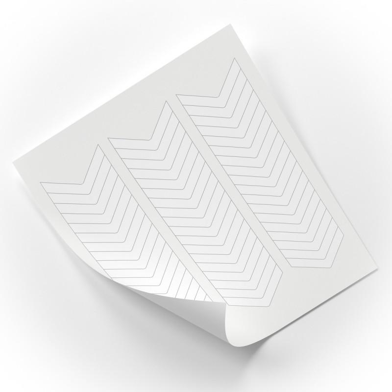 Sablon manichiura french 17