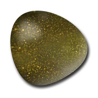 Velvet Top Coat Matte - Green nail art