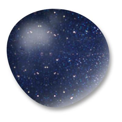 Velvet Top Coat Matte - Blue nail art