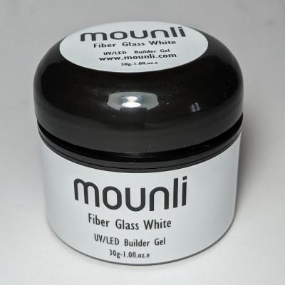 Gel Constructie Fiber Glass White 30ml nail art