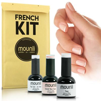 Kit Manichiura French nail art