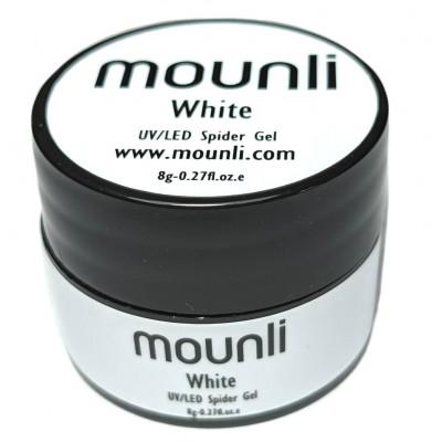 Gel UV Spider White 8ml nail art