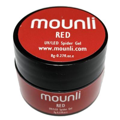 Gel UV Spider Red 8ml nail art