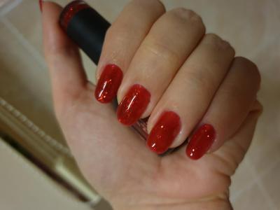 Oja Semipermanenta Ruby Glitter