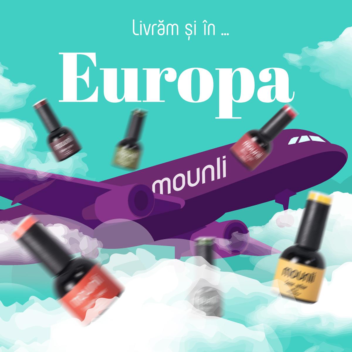 Livrare in Europa